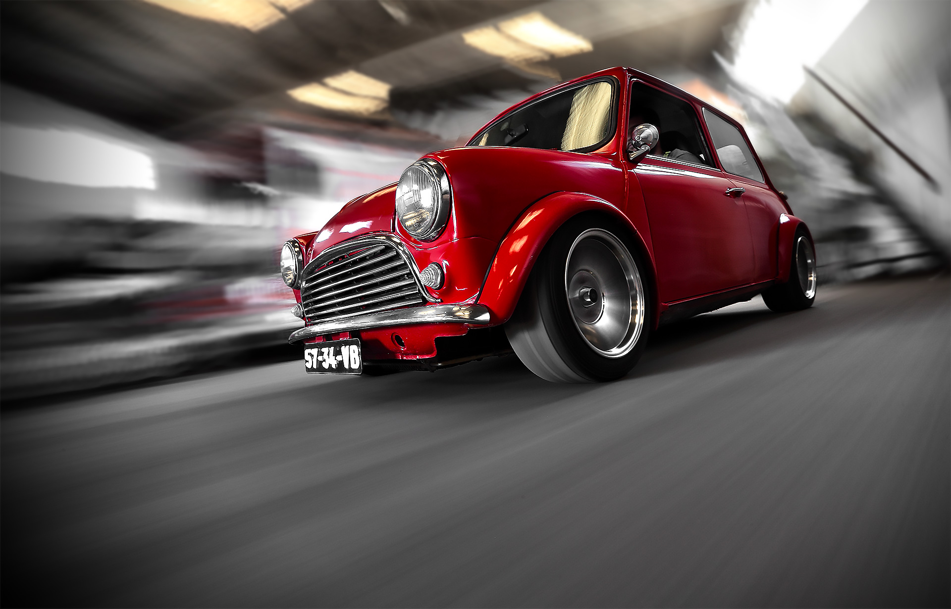 Classic Mini 1000 Red (1)