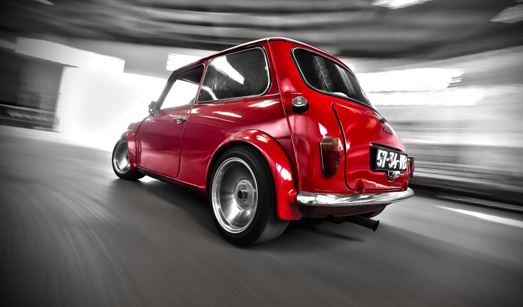 Classic Mini 1000 Red (9)