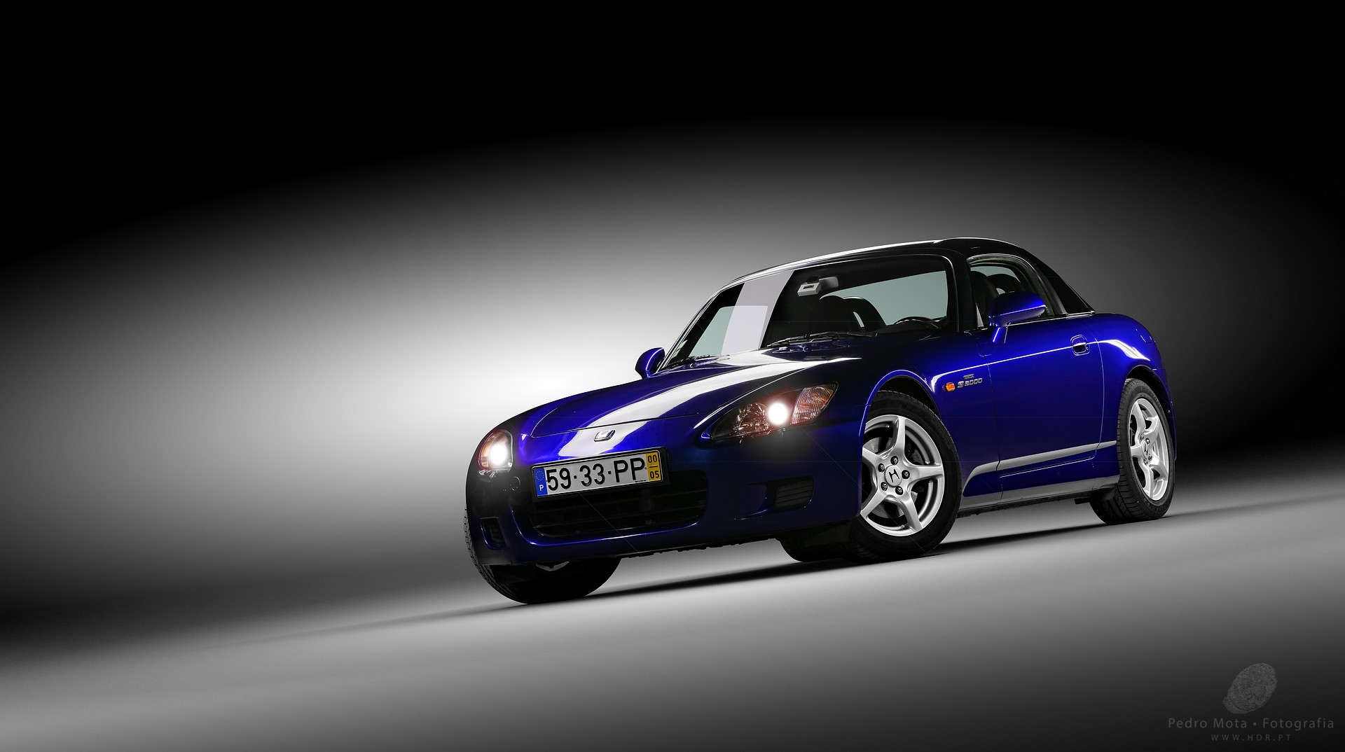 Honda S2000 Light painting