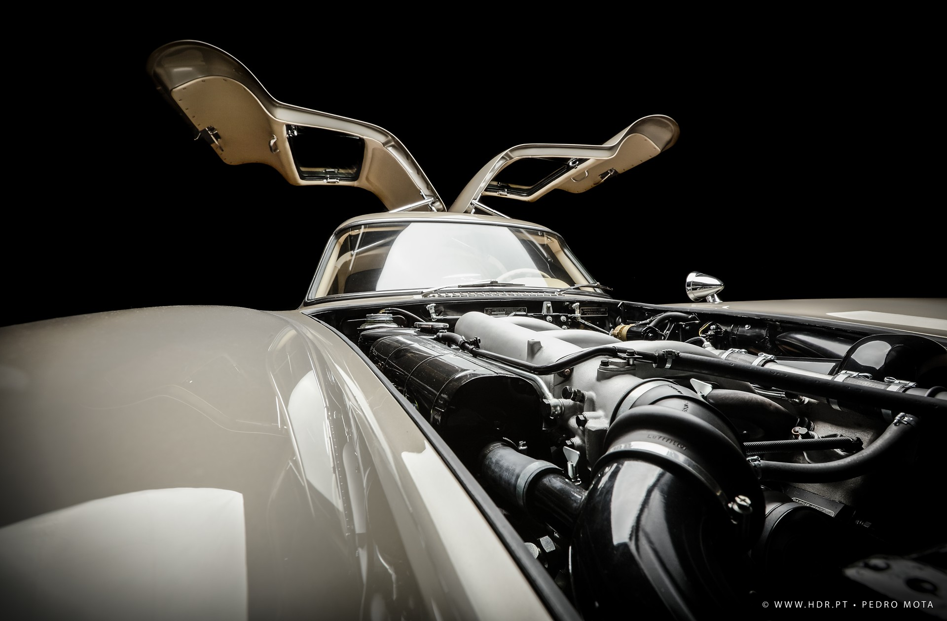 Mercedes 300 SL 1955 - Automotive Photography - Pedro Mota