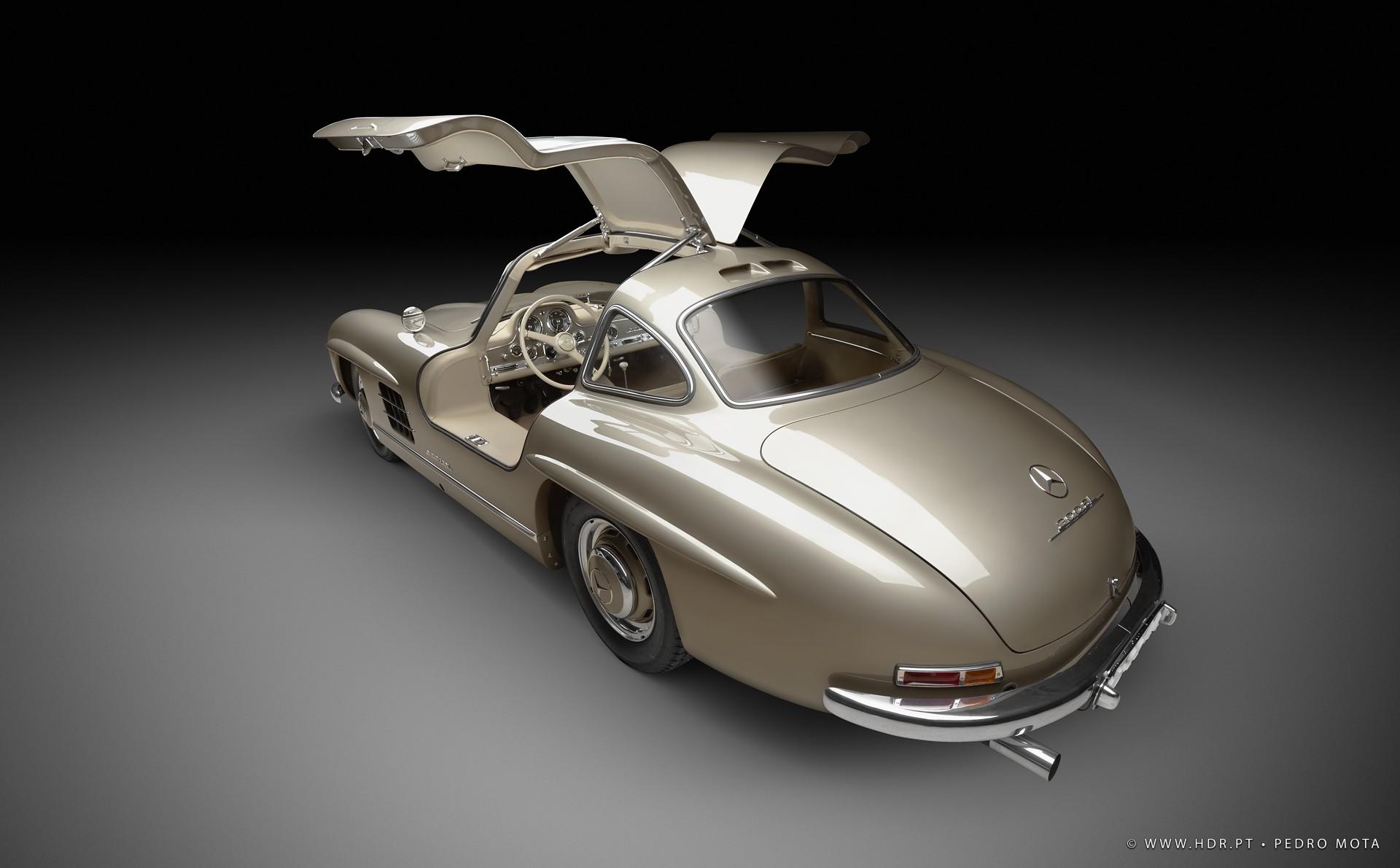 Mercedes 300 SL 1955 - Automotive Photography - Pedro Mota